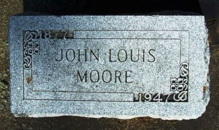 MOORE, JOHN LOUIS - Winneshiek County, Iowa | JOHN LOUIS MOORE