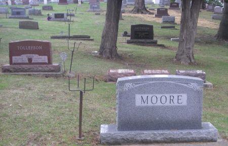 MOORE, SAMUEL J. FAMILY STONE - Winneshiek County, Iowa | SAMUEL J. FAMILY STONE MOORE