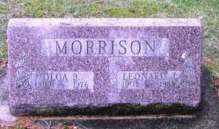 MORRISON, LEONARD T. - Winneshiek County, Iowa | LEONARD T. MORRISON