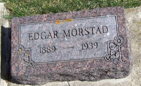 MORSTAD, EDGAR - Winneshiek County, Iowa | EDGAR MORSTAD
