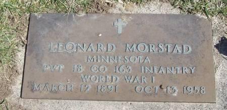 MORSTAD, LEONARD - Winneshiek County, Iowa | LEONARD MORSTAD