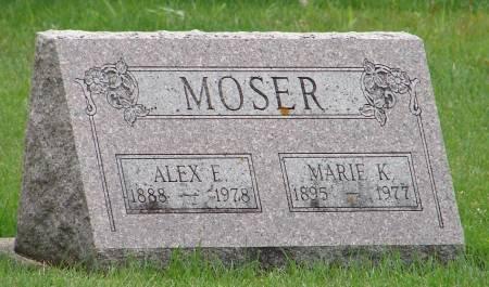 MOSER, ALEX E. - Winneshiek County, Iowa | ALEX E. MOSER