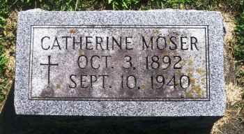 MOSER, CATHERINE - Winneshiek County, Iowa   CATHERINE MOSER