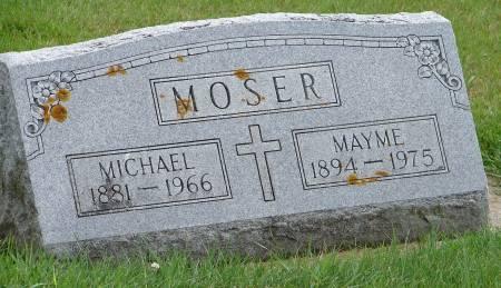 MOSER, MAYME - Winneshiek County, Iowa | MAYME MOSER