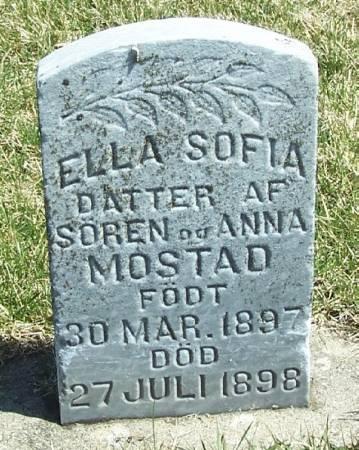 MOSTAD, ELLA SOFIA - Winneshiek County, Iowa | ELLA SOFIA MOSTAD