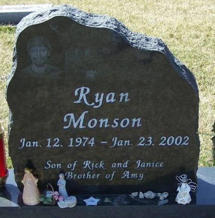 MONSON, RYAN - Winneshiek County, Iowa   RYAN MONSON