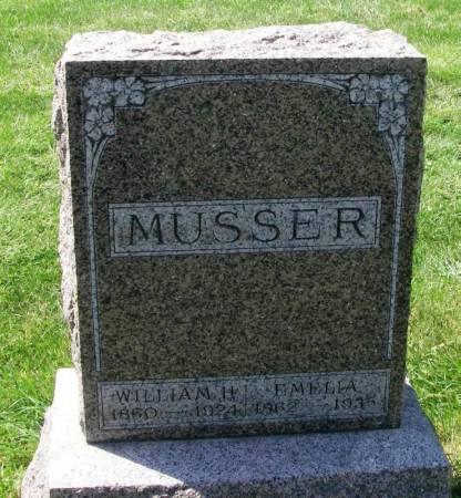 MUSSER, EMELIA - Winneshiek County, Iowa | EMELIA MUSSER