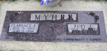 MYHRE, CLARENCE E. - Winneshiek County, Iowa | CLARENCE E. MYHRE