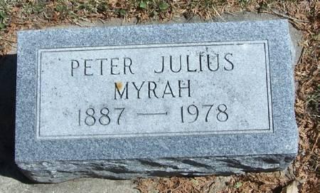 MYRAH, PETER JULIUS - Winneshiek County, Iowa | PETER JULIUS MYRAH