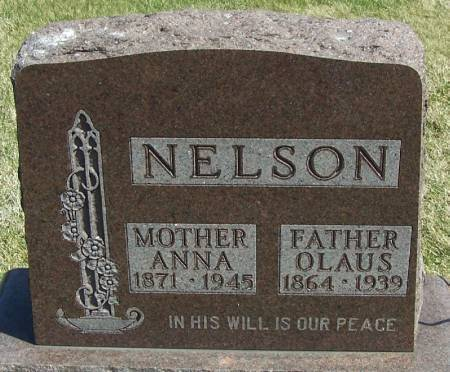 NELSON, ANNA - Winneshiek County, Iowa | ANNA NELSON