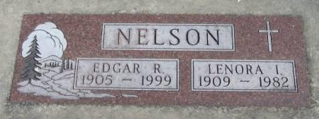 NELSON, LENORA I - Winneshiek County, Iowa | LENORA I NELSON