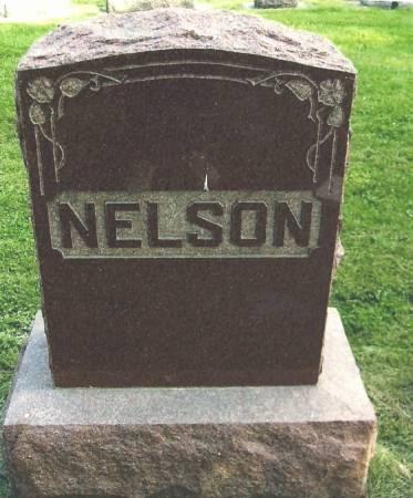 NELSON, JOHANNES FAMILY STONE - Winneshiek County, Iowa   JOHANNES FAMILY STONE NELSON
