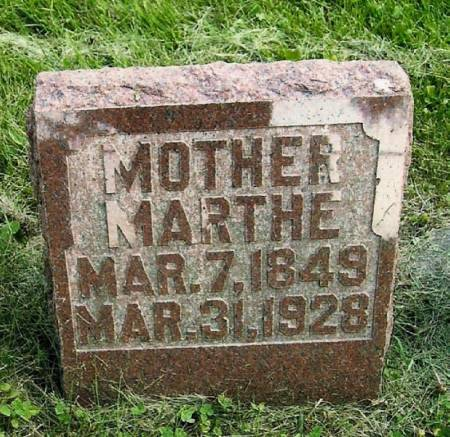 NELSON, MARTHE - Winneshiek County, Iowa | MARTHE NELSON