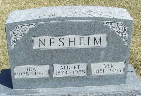 NESHEIM, IDA - Winneshiek County, Iowa | IDA NESHEIM