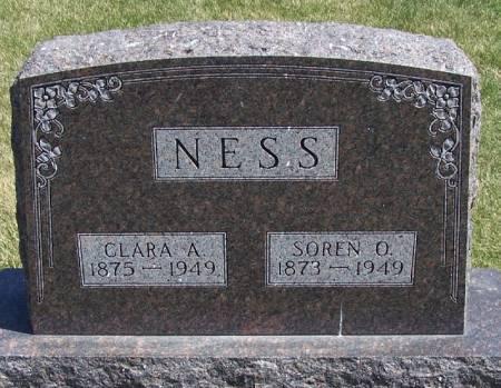 NESS, CLARA A - Winneshiek County, Iowa | CLARA A NESS