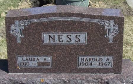 NESS, HAROLD A - Winneshiek County, Iowa | HAROLD A NESS