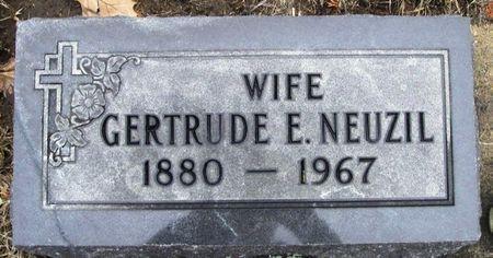 NEUZIL, GERTRUDE E. - Winneshiek County, Iowa | GERTRUDE E. NEUZIL
