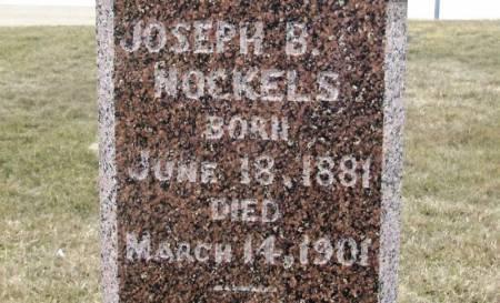 NOCKELS, JOSEPH B - Winneshiek County, Iowa | JOSEPH B NOCKELS
