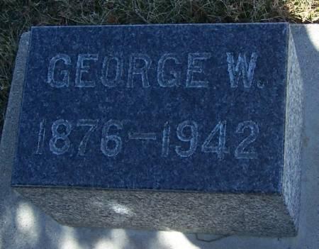 NOCKELS, GEORGE W - Winneshiek County, Iowa | GEORGE W NOCKELS