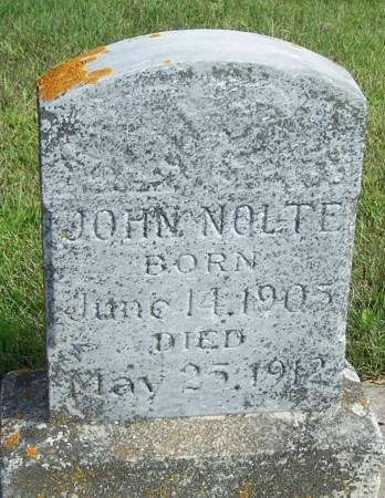 NOLTE, JOHN - Winneshiek County, Iowa   JOHN NOLTE