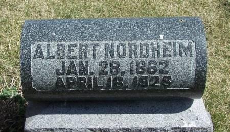NORDHEIM, ALBERT - Winneshiek County, Iowa | ALBERT NORDHEIM
