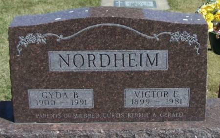 NORDHEIM, VICTOR E - Winneshiek County, Iowa   VICTOR E NORDHEIM