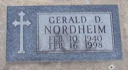 NORDHEIM, GERALD D - Winneshiek County, Iowa | GERALD D NORDHEIM