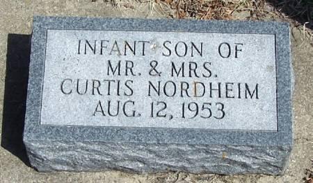 NORDHEIM, INFANT SON - Winneshiek County, Iowa   INFANT SON NORDHEIM