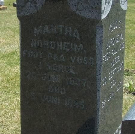 NORDHEIM, MARTHA - Winneshiek County, Iowa | MARTHA NORDHEIM