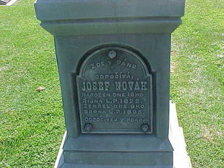 NOVAK, JOSEF - Winneshiek County, Iowa   JOSEF NOVAK