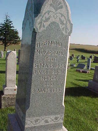 NUMEDAHL, HERMUND  J. - Winneshiek County, Iowa | HERMUND  J. NUMEDAHL