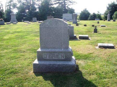O'BRIEN, ANDY FAMILY STONE - Winneshiek County, Iowa | ANDY FAMILY STONE O'BRIEN