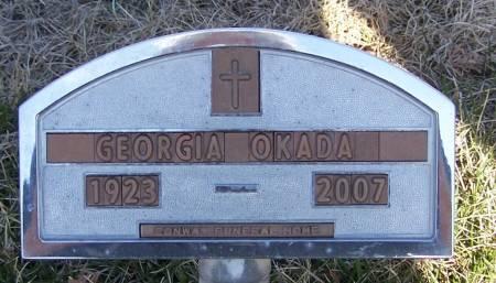 OKADA, GEORGIA - Winneshiek County, Iowa | GEORGIA OKADA