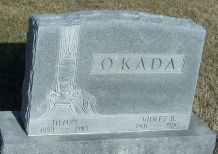 O'KADA, VIOLET B - Winneshiek County, Iowa | VIOLET B O'KADA