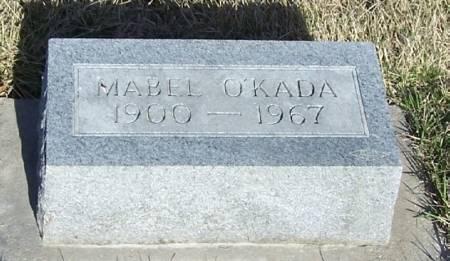 O'KADA, MABEL - Winneshiek County, Iowa | MABEL O'KADA