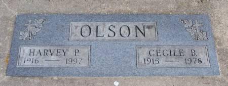 OLSON, CECILE B - Winneshiek County, Iowa | CECILE B OLSON