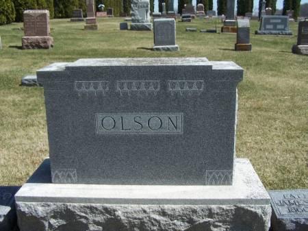 OLSON, JAMES FAMILY STONE - Winneshiek County, Iowa | JAMES FAMILY STONE OLSON