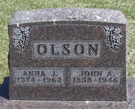 OLSON, JOHN A - Winneshiek County, Iowa   JOHN A OLSON