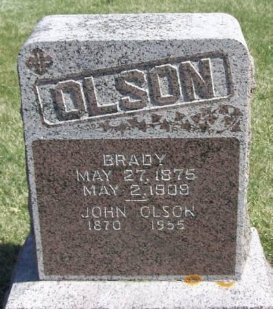 OLSON, BRADY - Winneshiek County, Iowa | BRADY OLSON