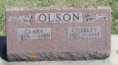 OLSON, CHARLEY - Winneshiek County, Iowa | CHARLEY OLSON