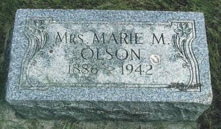 OLSON, MARIE MRS. - Winneshiek County, Iowa   MARIE MRS. OLSON