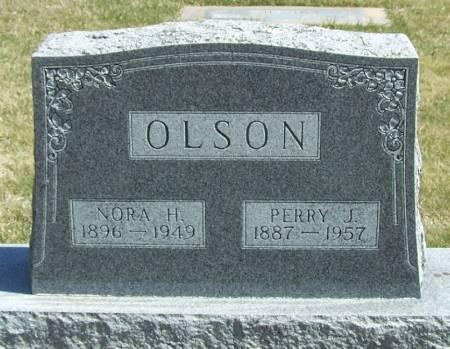 OLSON, NORA H - Winneshiek County, Iowa | NORA H OLSON