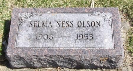 OLSON, SELMA NESS - Winneshiek County, Iowa   SELMA NESS OLSON