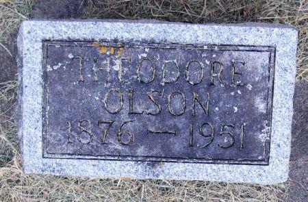 OLSON, THEODORE - Winneshiek County, Iowa   THEODORE OLSON