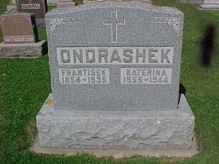 ONDRASHEK, FRANTISEK - Winneshiek County, Iowa | FRANTISEK ONDRASHEK