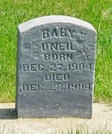 O'NEIL, BABY - Winneshiek County, Iowa | BABY O'NEIL