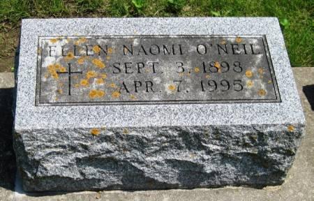 O'NEIL, ELLEN NAOMI - Winneshiek County, Iowa   ELLEN NAOMI O'NEIL