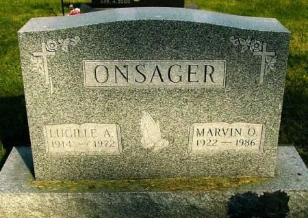 ONSAGER, MARVIN O. - Winneshiek County, Iowa | MARVIN O. ONSAGER