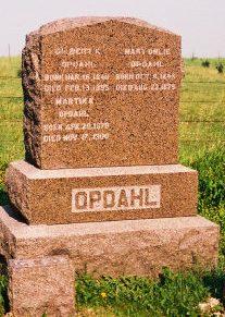 OPDAHL, MARTIN K. - Winneshiek County, Iowa | MARTIN K. OPDAHL