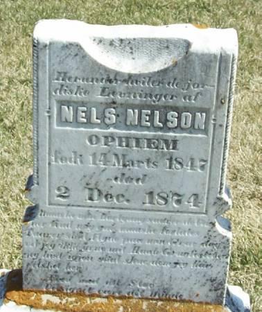 OPHIEM, NELS NELSON - Winneshiek County, Iowa | NELS NELSON OPHIEM